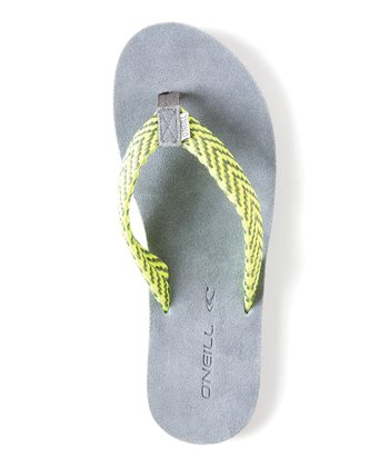 Gray Movement Flip-Flop - Women