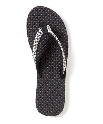 Black Tides Flip-Flop