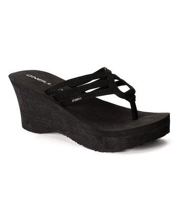 Black Tiki Too Sandal