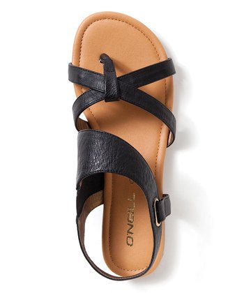 Black Rocky Point Sandal - Women