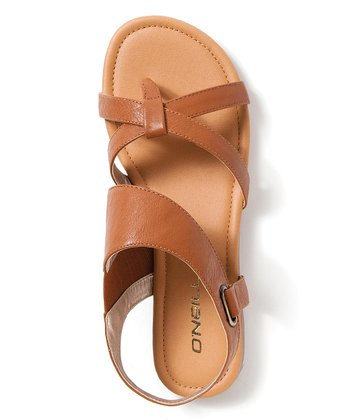 Cognac Rocky Point Sandal - Women