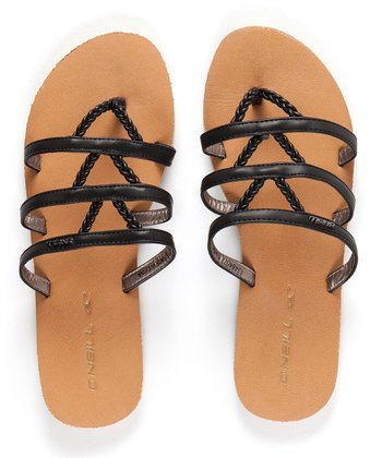 Black Zao Sandal - Women