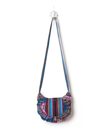 Indigo Vista Crossbody Bag