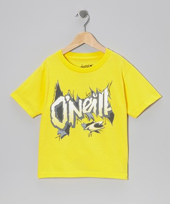 Yellow Break Out Tee