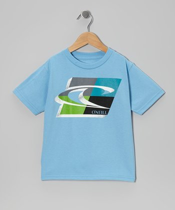 Blue Forward Slash Tee