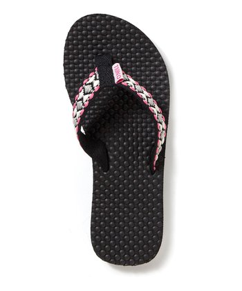 Black Little Tides Flip-Flop
