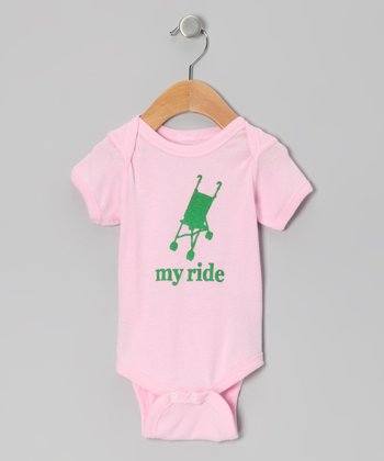Light Pink 'My Ride' Bodysuit - Infant