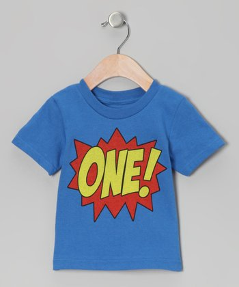 Royal Blue 'ONE!' Tee - Infant