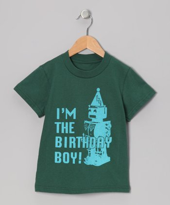 Green 'I'm The Birthday Boy' Tee - Infant, Toddler & Boys