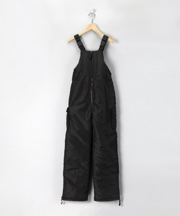 West Wind Black Bib Pants - Boys