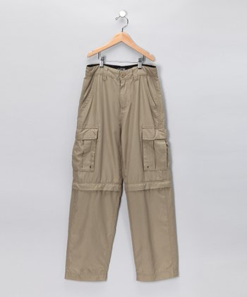 Army Zip Cargo Pants