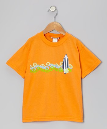 Orange Cabo Surf Tee - Infant, Toddler & Boys