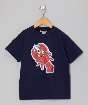 Navy Lobster Squad Tee - Infant, Toddler & Boys