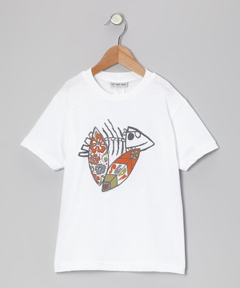 White Wacky Surfboard Tee - Infant, Toddler & Boys