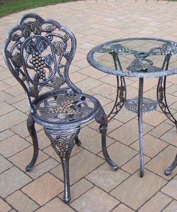 Vineyard Three-Piece Bistro Set