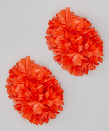 Orange Pom-Pom Set