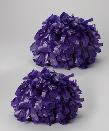 Purple Pom-Pom Set