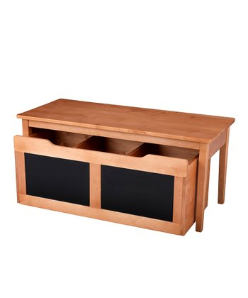 Honey Table & Chalkboard Trundle