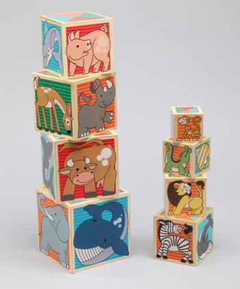 Animal Nesting Block Set