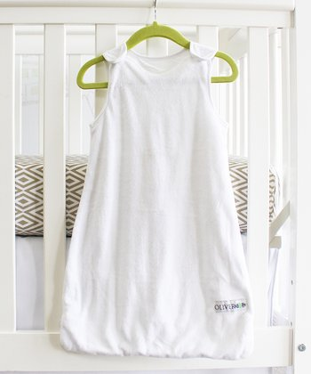 White Minky Sleeping Sack