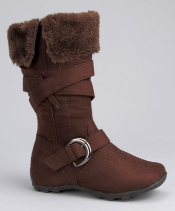 Coco Jumbo Brown Single Buckle Boot