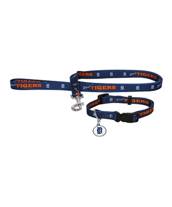 Detroit Tigers Leash & Collar