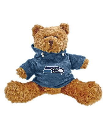 Seattle Seahawks Hoodie Bear Plush Toy