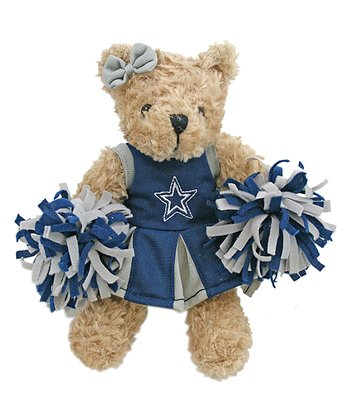 Dallas Cowboys Cheerleader Bear Plush Toy