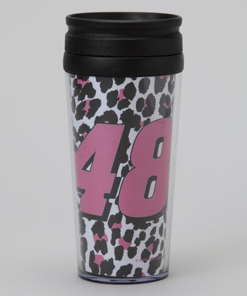 Cheetah Jimmie Johnson Acrylic Tumbler