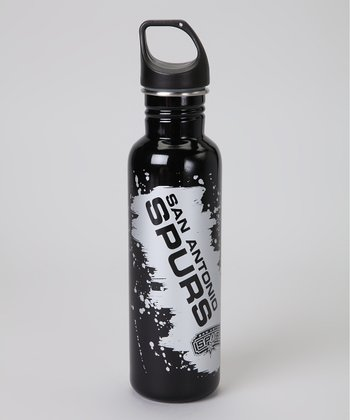San Antonio Spurs Steel 26-Oz. Water Bottle
