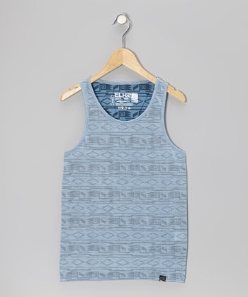 Light Blue Tribal Tank