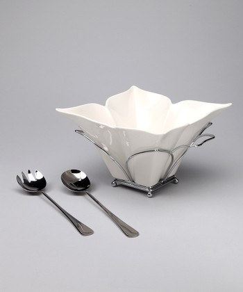Fiori Salad Bowl Set