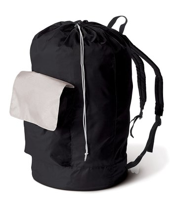 Black Laundry Carry Pack