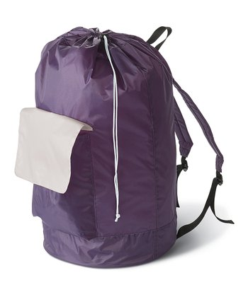 Eggplant Laundry Carry Pack