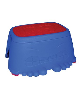 Blue & Red Stepping Stool