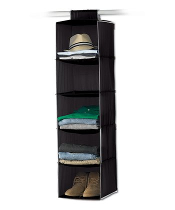 Black Five-Shelf Hanging Organizer