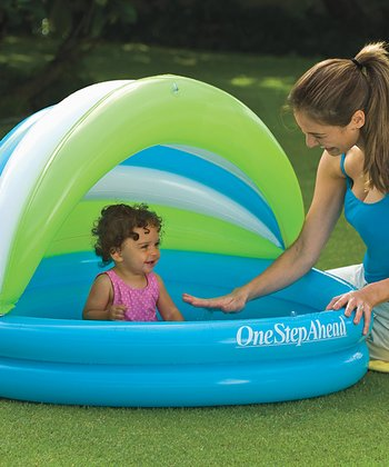 Soft Seat Baby Pool & Canopy