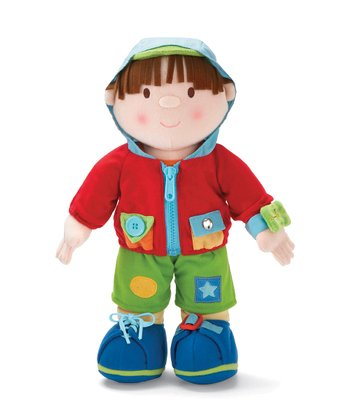 Boy Dress-Up Doll Set