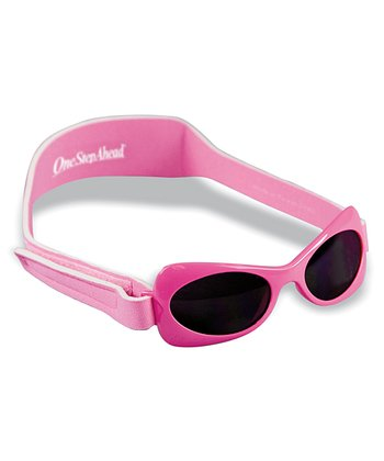 Pink Sun Smarties Wrap Shades