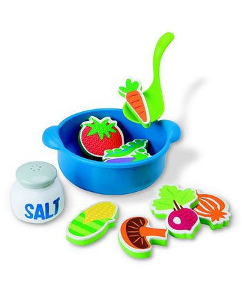 Blue Rub a Dub Tub Soup Bath Toy Set