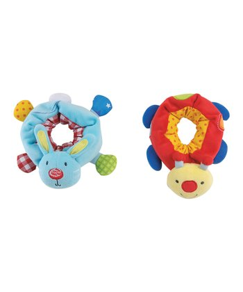 Wrist Rattle Pal Set