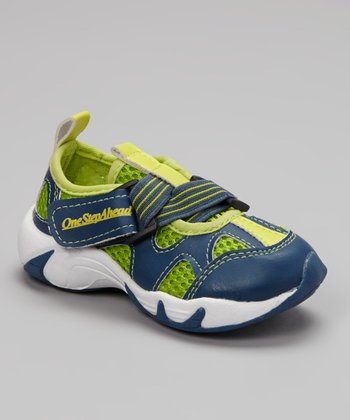 Blue & Green Amphibious Swim Shoe