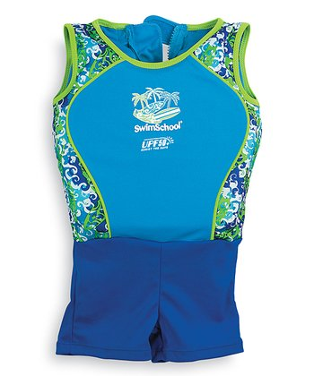 Blue Floatation UPF 50+ Swim Trainer