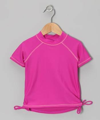 Pink Rashguard - Infant, Toddler & Girls