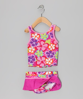 Pink Luau Tankini - Infant & Toddler