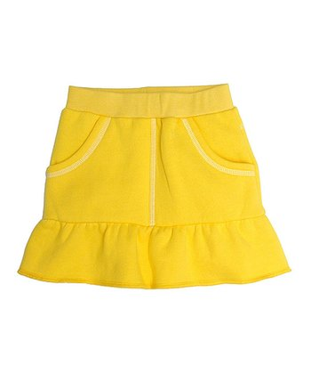 Yellow Ruffle Skirt - Toddler & Girls