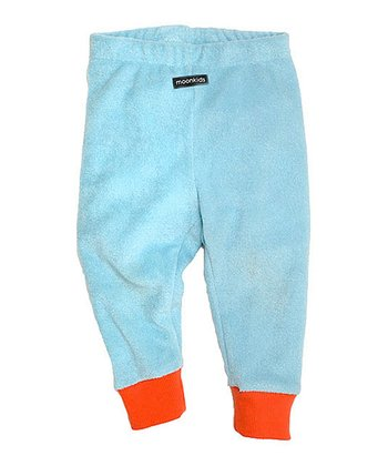 Ice Blue Velour Leggings - Infant & Toddler