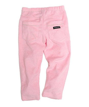 Soft Pink Velour Pants - Infant, Toddler & Kids