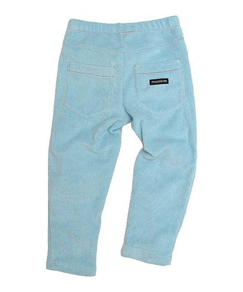 Ice Blue Velour Pants - Infant, Toddler & Kids