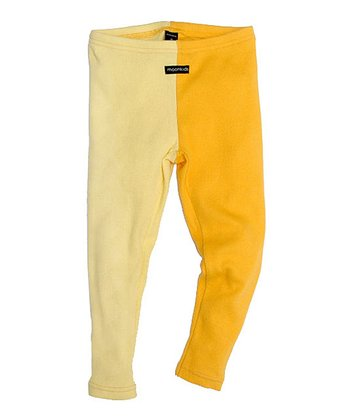 Sunshine & Yellow Duo-Tone Leggings - Infant, Toddler & Kids